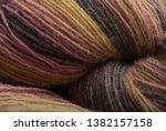 yarn macro texture. gradient...   Shutterstock . vector #1382157158