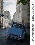 montmartre  paris  france  ...   Shutterstock . vector #1382221475