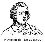 edmund burke  1729 1797  he was ... | Shutterstock .eps vector #1382316992