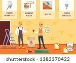house painter and plasterer... | Shutterstock .eps vector #1382370422
