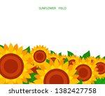 Illustration Of A Sunflower...