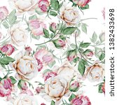 bright seamless pattern with... | Shutterstock . vector #1382433698