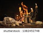 treasure hunt. pirate concept.... | Shutterstock . vector #1382452748
