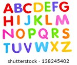 childrens style fun colourful... | Shutterstock . vector #138245402