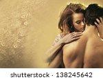 passionate couple | Shutterstock . vector #138245642
