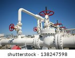 oil and gas processing plant... | Shutterstock . vector #138247598