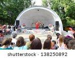 moscow   august 10  artists...   Shutterstock . vector #138250892