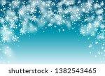 vector snow background. winter...   Shutterstock .eps vector #1382543465
