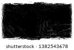 frame with distressed black and ... | Shutterstock .eps vector #1382543678
