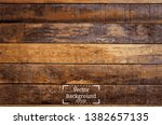 vintage wall of wooden planks... | Shutterstock .eps vector #1382657135