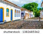 street of historical center in...   Shutterstock . vector #1382685362