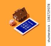 smart house and iot  smart... | Shutterstock . vector #1382729378