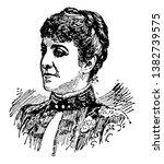 adelina patti  1843 1919  she...   Shutterstock .eps vector #1382739575
