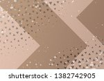 beautiful beige abstract... | Shutterstock . vector #1382742905