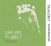 nature conservation poster....   Shutterstock .eps vector #138274742