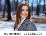 close up. young beautiful... | Shutterstock . vector #1382801702