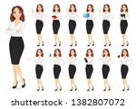 Businesswoman Character In...