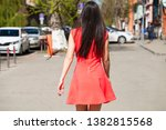 portrait of a young beautiful... | Shutterstock . vector #1382815568