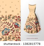 seamless pattern of hand draw... | Shutterstock . vector #1382815778