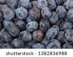 fresh ripe  blueberries  food... | Shutterstock . vector #1382836988