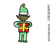 cartoon christmas elf | Shutterstock . vector #138283895