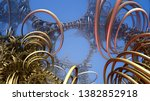 abstract background  fantastic... | Shutterstock . vector #1382852918