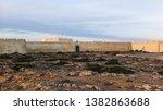 Sagres Fort basked in warm sunlight at dusk, Fim do Mundo, The End of The World, Sagres, Algarve, Portugal