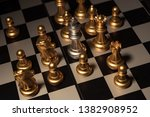close up shot chess on the... | Shutterstock . vector #1382908952