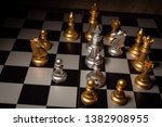 close up shot chess on the... | Shutterstock . vector #1382908955