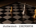 close up shot chess on the... | Shutterstock . vector #1382908958