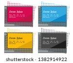 stock vector modern abstract... | Shutterstock .eps vector #1382914922