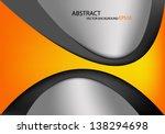 yellow background vector... | Shutterstock .eps vector #138294698