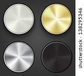 multimedia buttons set  ...