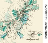 vintage stylized design with... | Shutterstock .eps vector #138300092