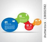 overlapping semi circles   eps10 | Shutterstock .eps vector #138302582