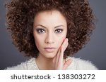 portrait of the beautiful... | Shutterstock . vector #138303272