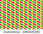 isometric seamless pattern ...   Shutterstock .eps vector #1383035105