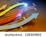 financial direction as business ... | Shutterstock . vector #138304802