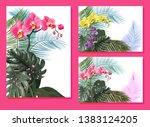 templates for vacation... | Shutterstock .eps vector #1383124205