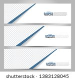 banner template. abstract...   Shutterstock .eps vector #1383128045
