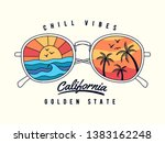 vector sun glasses with... | Shutterstock .eps vector #1383162248