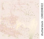 chic blush pink gold trendy... | Shutterstock .eps vector #1383208322