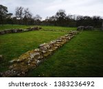 Stone Wall Remains At...