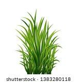 vector realistic green fresh... | Shutterstock .eps vector #1383280118