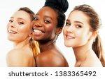 different nation woman  african ... | Shutterstock . vector #1383365492