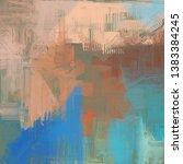 abstract texture. 2d... | Shutterstock . vector #1383384245