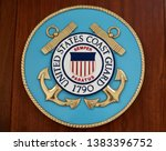 Small photo of WASHINGTON, DC - APRIL 26, 2019: COAST GUARD - sign / seal / emblem at Congressional liaison office - house office building