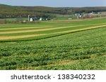 Shot Of Fields In Lancaster...
