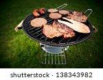 grill | Shutterstock . vector #138343982