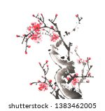 Chinese Painting Of Flowers ...